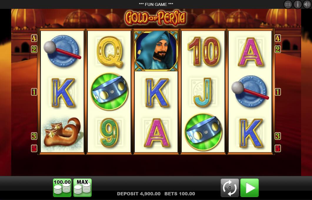 Gold of Persia Slot Machine
