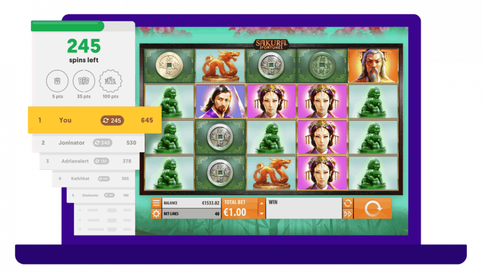 Casumo Online Casino Reel Races