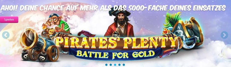 Vera&John Online Casino Pirates Plenty