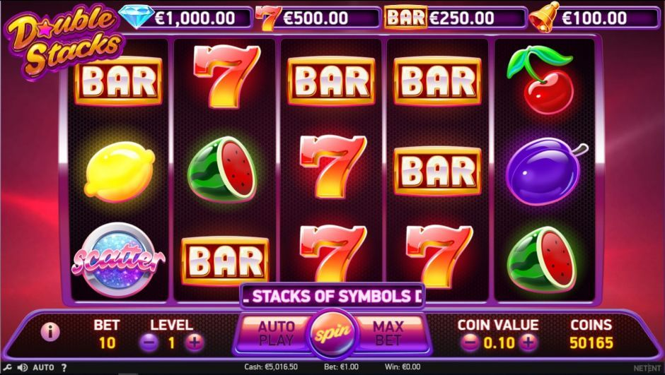 Energy Online Casino Double Stacks