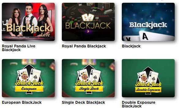 Blackjack online spielen im Royal Panda Casino