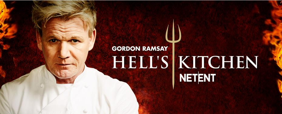 Gordon Ramsay im NetEnt Slot Hell's Kitchen