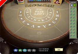 Baccarat CasinoRoom