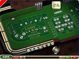 Play Craps at Casino Tropez