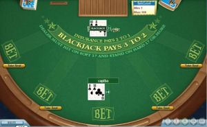 What is insurance bet in blackjack antique slot machines for sale