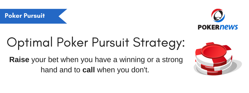 The Ultimate Poker Pursuit Strategy