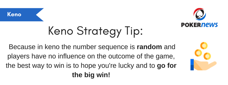 Keno Tips and Tricks to Beat the House!