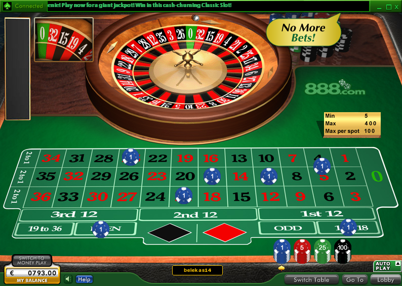 Casino-on-Net Roulette