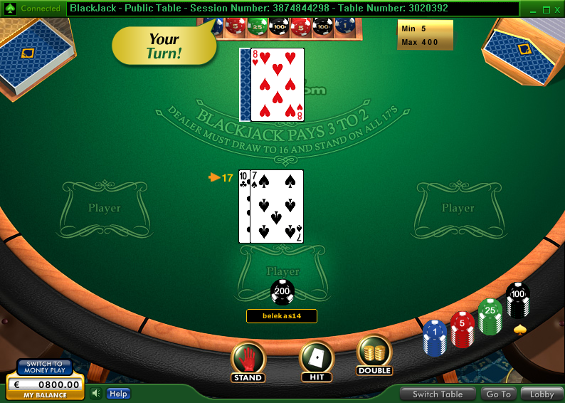 Casino-on-Net BlackJack