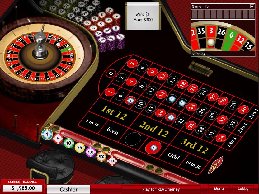 21 nova casino roulette