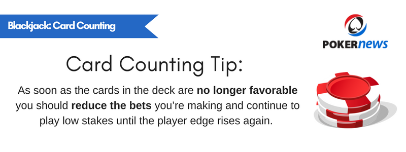 The Principle of Counting Cards in Blackjack Games