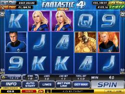 Fantastic Four Video Slot Game
