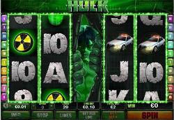 Incredible Hulk Video Slot Game