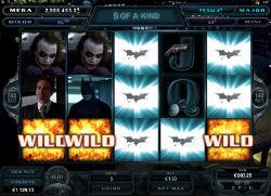 Batman Dark Knight Rises Video Slot Game