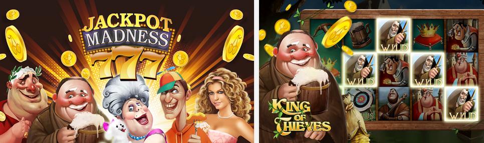 Jackpot Madness slots game
