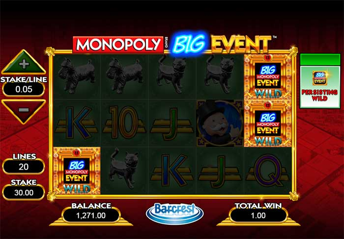 Monopoly Big Event Online review