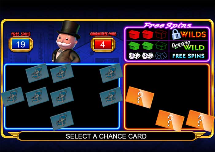 chance card of monopoly game