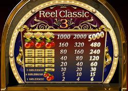 Classic reel 3 slots game