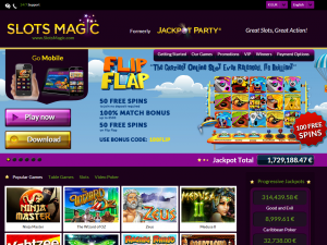 Slots Magic Free Spins bonus