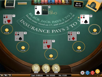 online blackjack: how to play one hand
