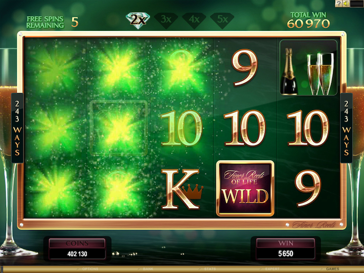 Popular slots games Finer Reels of Life