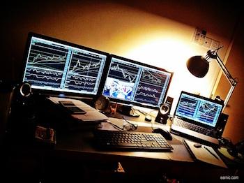 trading and blackjack