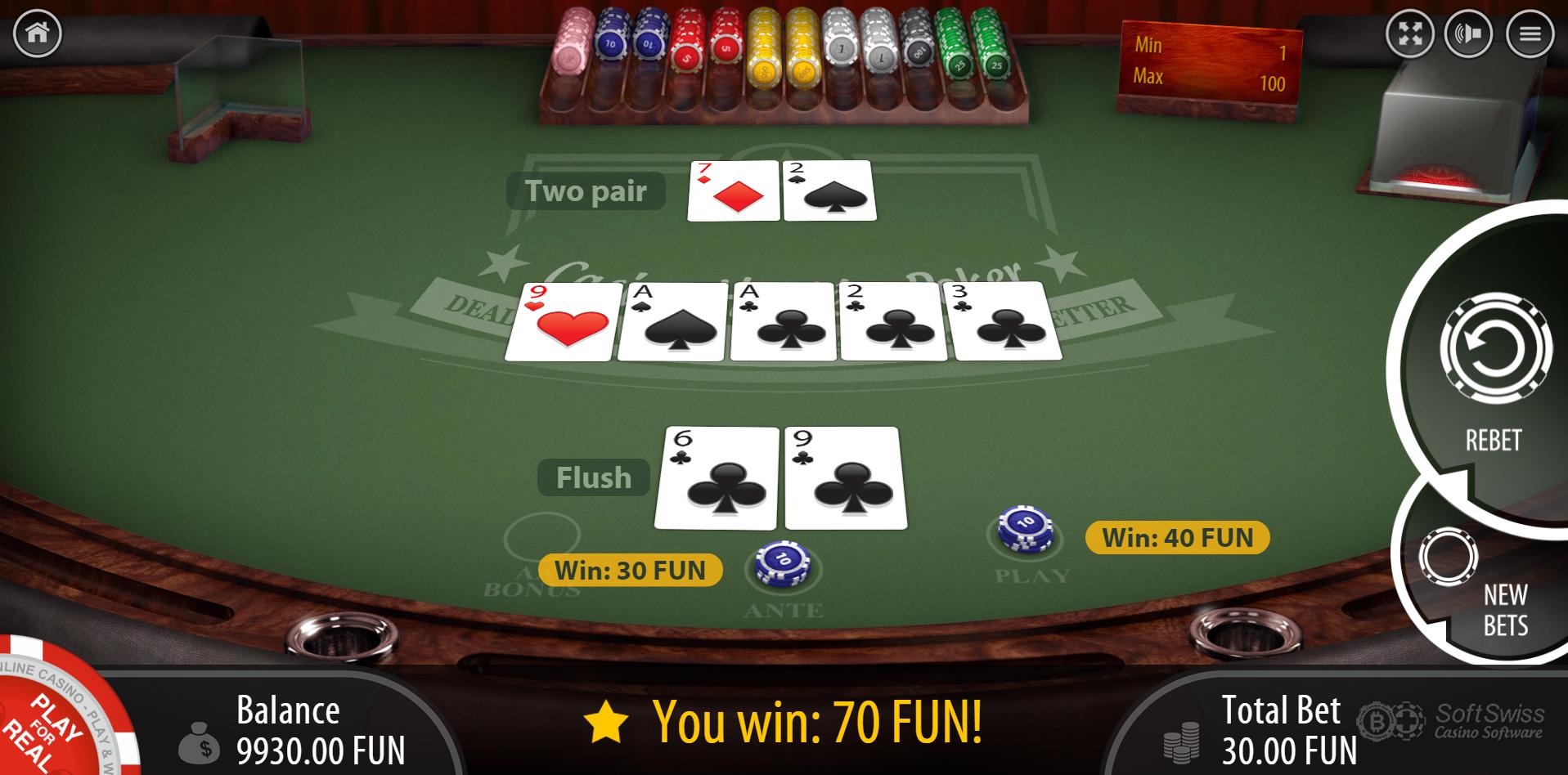 casino holdem hausvorteil