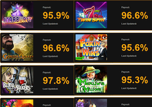 If you want to win at slots, check out the payout rate