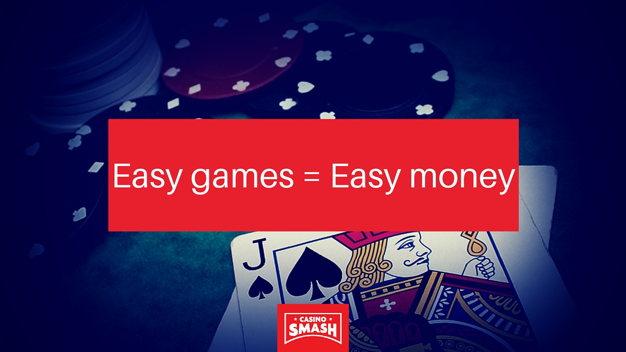 easy games to win at blackjack