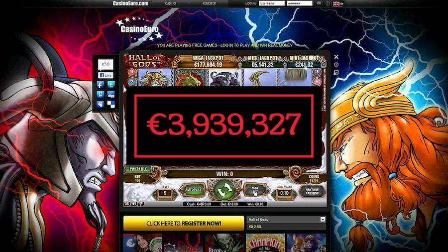 Hall of God Mega Jackpot