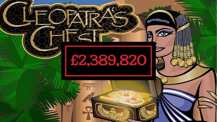 Cleopatra's Chest Jackpot