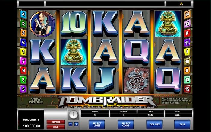 Tomb Rider online slots