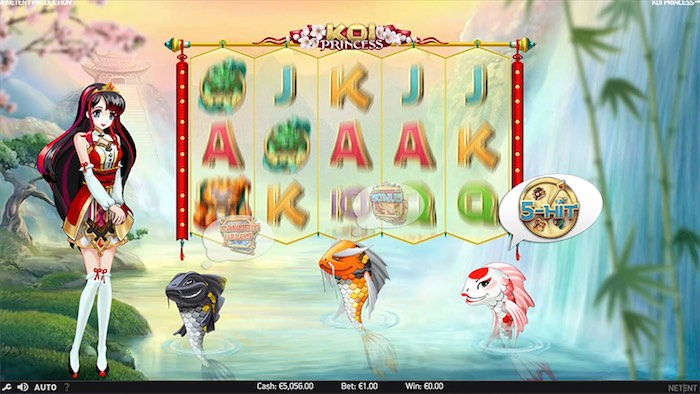 Koi Princess Online Slots