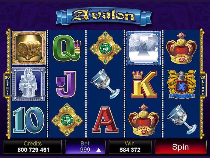 Avalon online slots