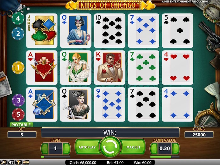 Kings of Chicago online slots