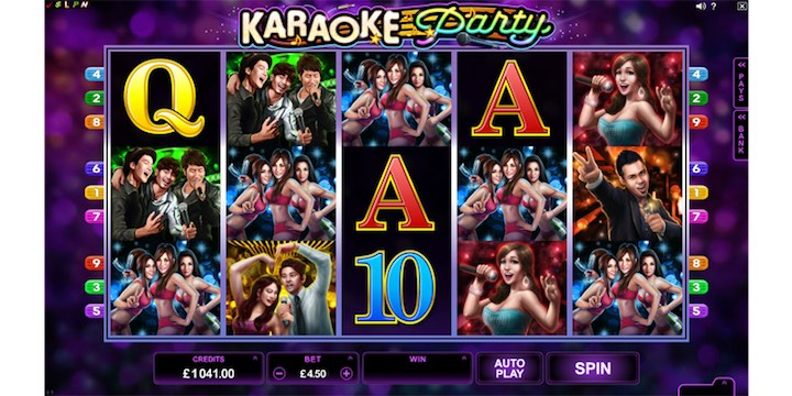 Karaoke Party Slot Machine Review & Free Instant Play Game