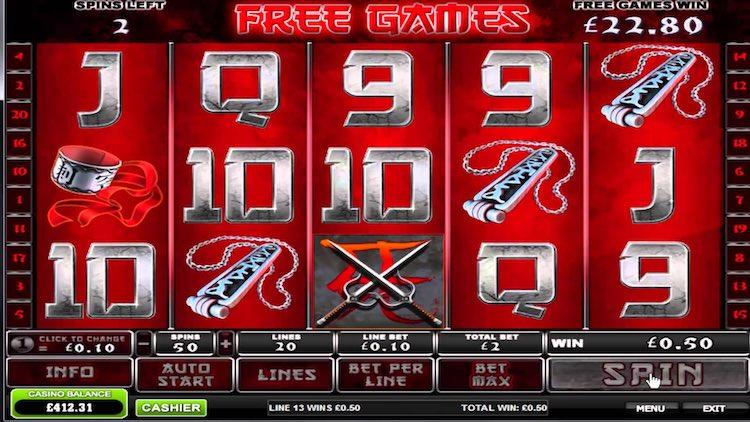 Elektra Marvel Slot Machine