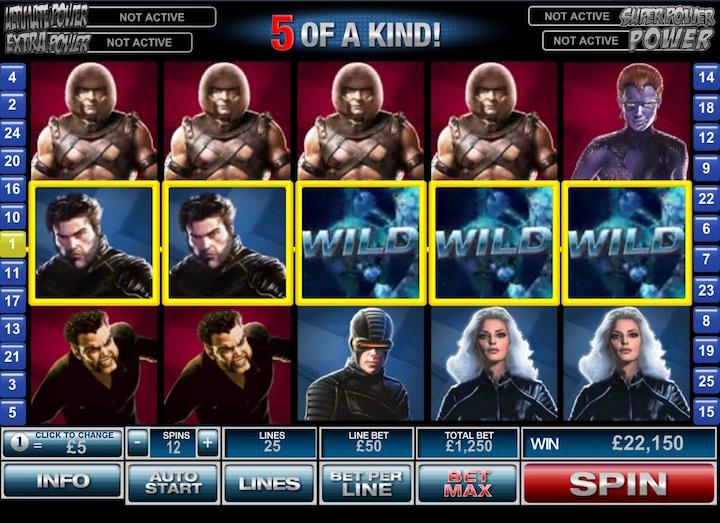 x-men online slots game