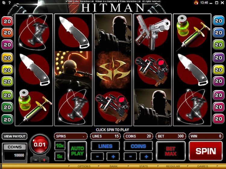Hitman online slots