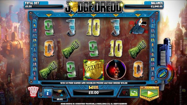 Judge Dredd Online Slots