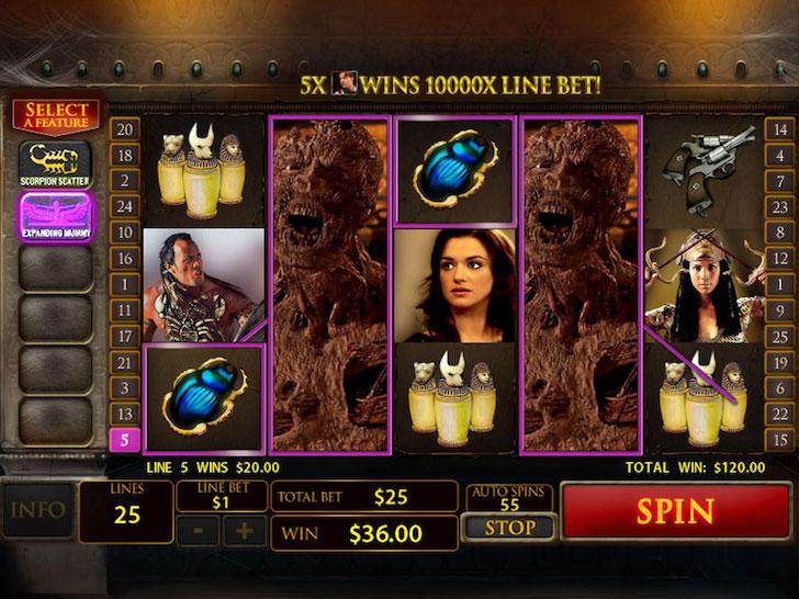 The Mummy Slot Machine