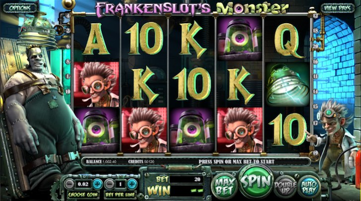 Frankenslot Monster
