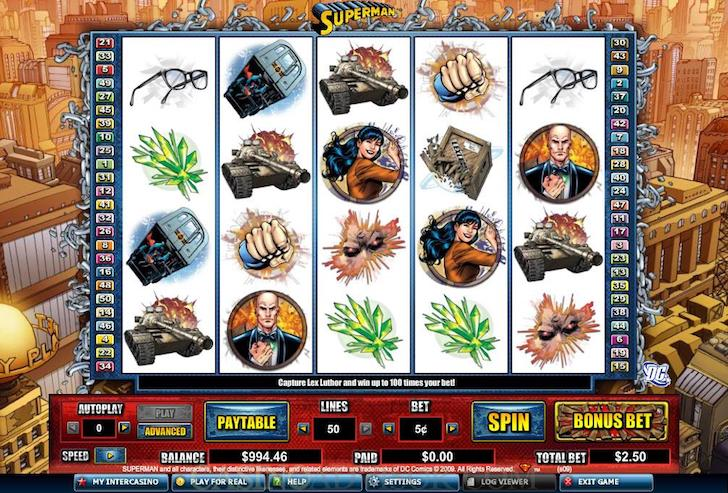 DC Comics Slots - Play Free Online Slot Machines in DC Comics Theme