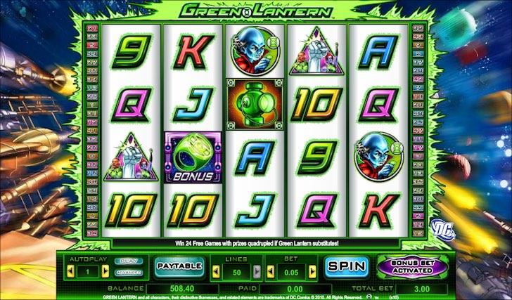 DC Comic-Slots - Spielen Sie alle gratis online