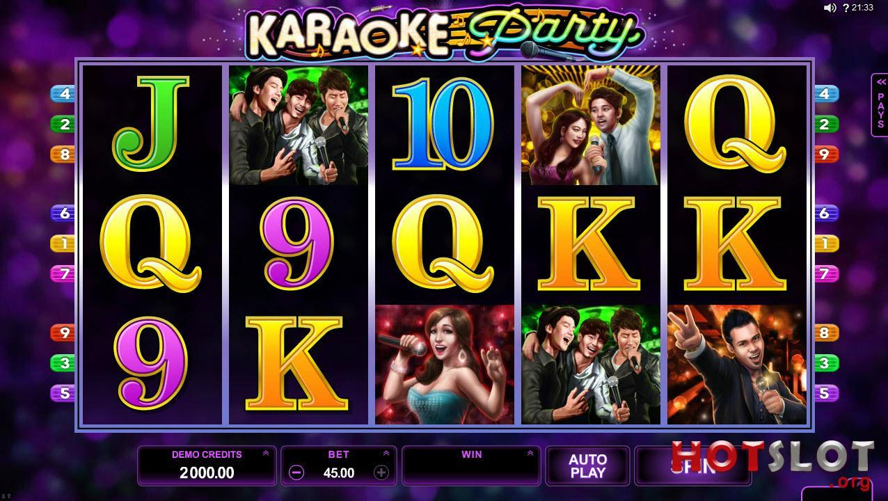Karaoke Party Online Slots Game