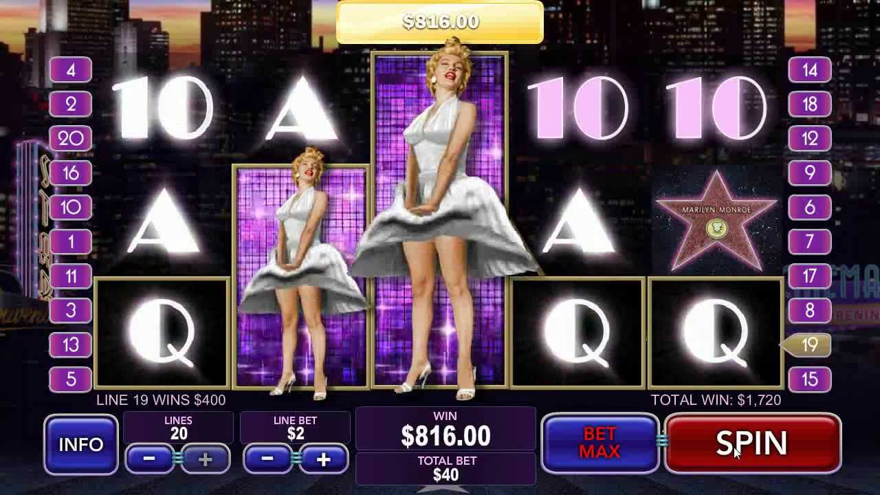 Marilyn Monroe Online Slots Game