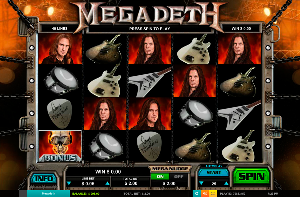 Megadeath Online Slots Game