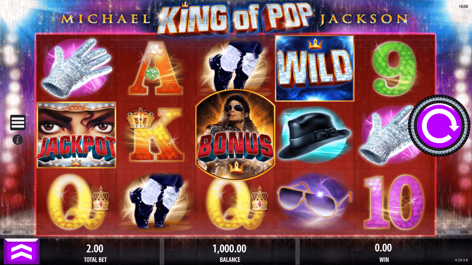 Michael Jackson King of Pop Online Slots Game
