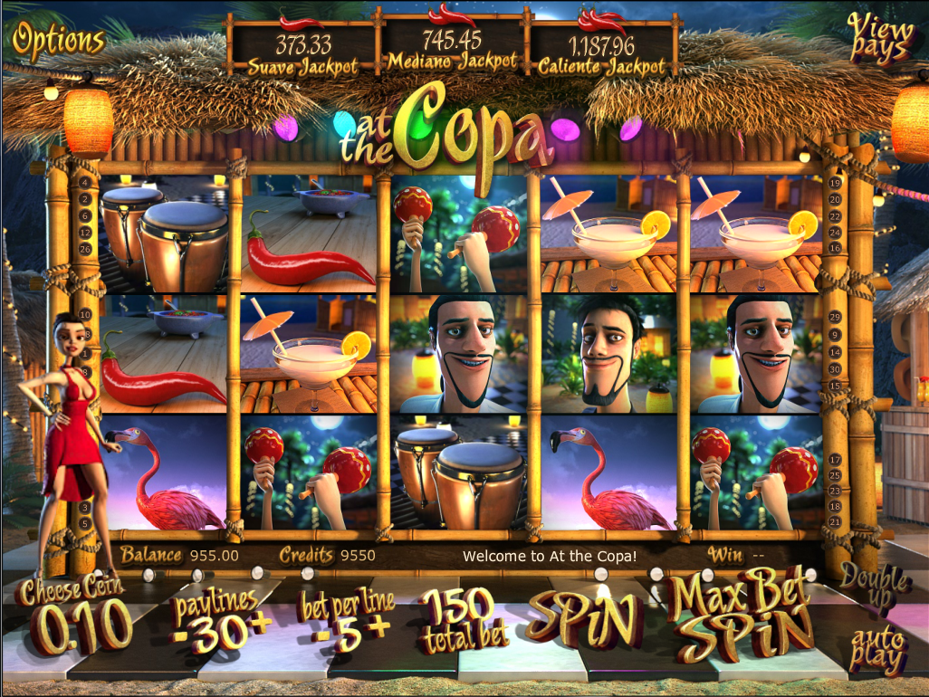 At the Copa Online Slots Game