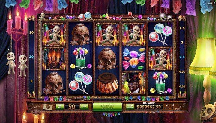 Vodoo Candy Shop online slots